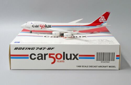 Cargolux B747-8F Reg: LX-VCC 50 Years JC Wings Scale 1:400 Diecast Model XX4356C
