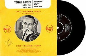 TOMMY-DORSEY-BOOGIE-WOOGIE-EP-7-45-VINYL-RECORD-PIC-SLV