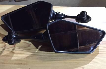 Left and right mirrors Kawasaki Ninja 250