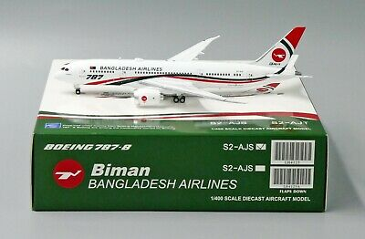 Biman Bangladesh B787-8 Reg: S2-AJS JC Wings Scale 1:400 LH4125 for sale  China