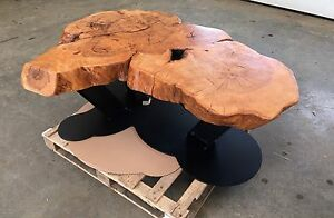 Beautiful one of a kind rustic table Natural live edge