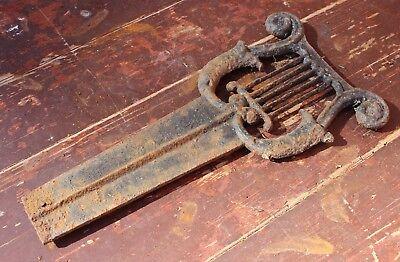 Antique Iron Boot Scraper