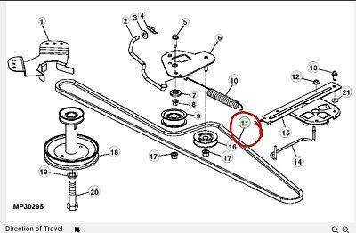 John Deere Drive Belt EPC031852