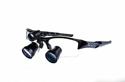 Oakley Loupes Wled 3.3x New Custom Made Orascoptic Surgitel Design For Vision