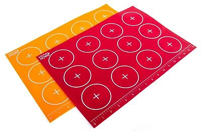 Silicone Baking Mats Set Of 2 Non-stick BPA Free Food Grade