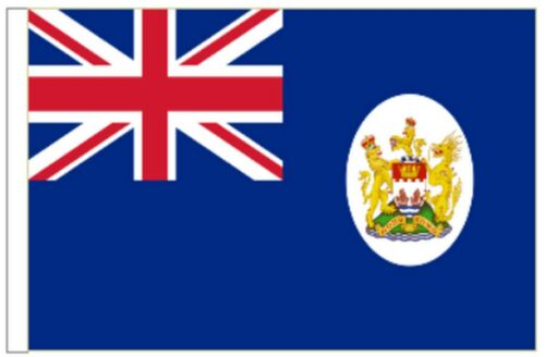 Hong Kong 1959 to 1997 Sleeved Courtesy Flag ideal for Boats 45cm x 30cm