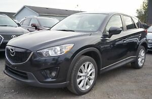 2015 Mazda CX-5 GT ACCIDENT FREE | BLACK LEATHER INTERIOR | C...