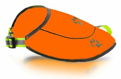 Dog Safety Reflective Vest, Hunting Waterproof Orange Vest for Best (Best Orange Hunting Vest)