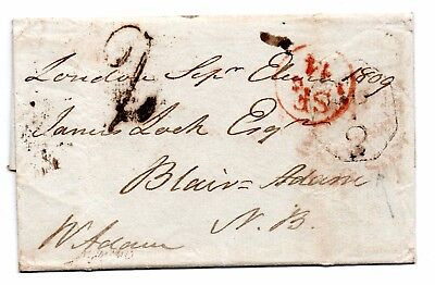 Wrapper used in London hand struck 2 & light To Pay only 2d scarce cancel
