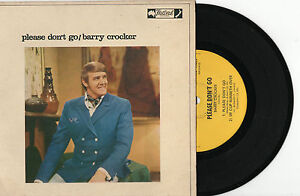 BARRY-CROCKER-PLEASE-DONT-GO-EP-7-45-VINYL-RECORD-PIC-SLV-1970