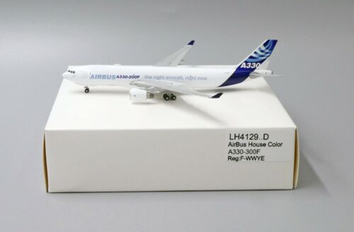 AirBus House Color A330-300F Reg:F-WWYE JC Wing 1:400 Diecast LH4129.D White BOX