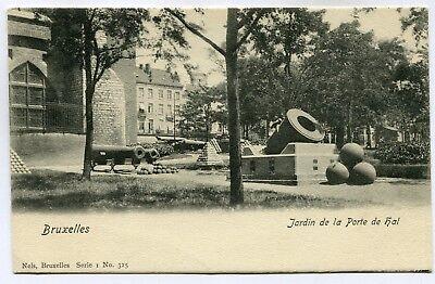 CPA - Carte Postale - Belgique - Bruxelles - Jardin de la Porte de Hal (SV5900)