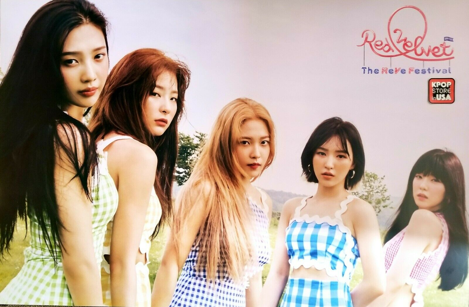RED VELVET OFFICIAL POSTER