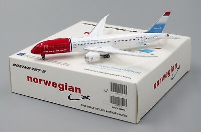 Norwegian B787 9 Reg  G Cklz  Jc Wings 1 400 Diecast Models Xx4027