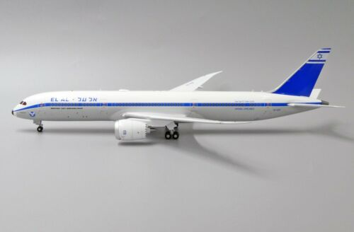 EL AL Israel B787-9  Retro Reg: 4X-EDF JC Wings Diecast 1:200 XX2146 White Box!!