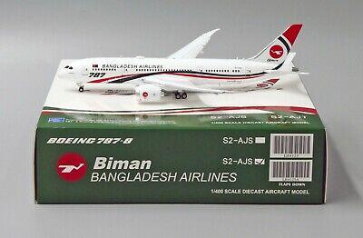 Biman Bangladesh B787-8 FLAP DOWN Version Reg: S2-AJS JC Wings 1:400   LH4125A for sale  China