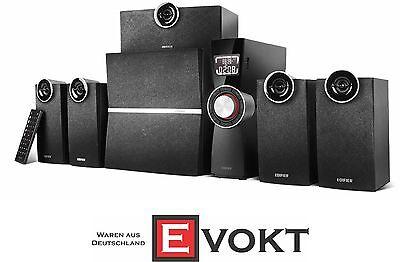 EDIFIER C6XD 5.1 speaker system 80 watts infrared remote control USB input