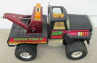 Used, Nylint Ford F-150 Super Tow'd Pickup Tow Truck 4X4 Wrecker Vintage Toy Metal Car for sale  Morgantown