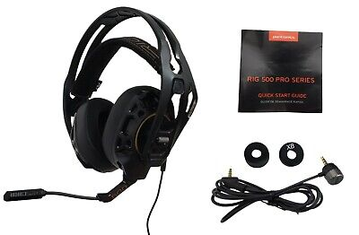 Plantronics RIG 500 Pro HC Gaming Stereo Headset Over Ear Wired 3.5mm Xbox PS4