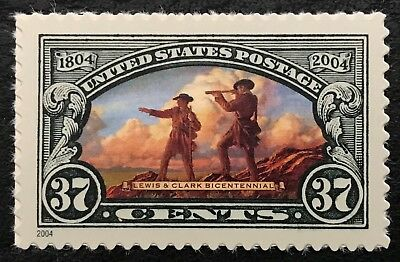 2004 Scott #3854 - 37¢ - LEWIS & CLARK TOGETHER - Single Mint -