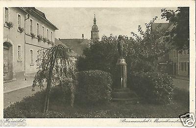 Wunsiedel im Fichtelgebirge, Brunnenmaderl, Maximilianstraße, alte Ansichtskarte