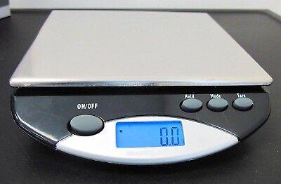 Saga DIGITAL LCD SCALE 1 gram .01 kg .10 ounce 1 pound Posta