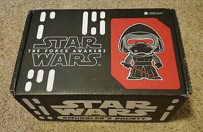 Funko Star Wars Smuggler's Bounty Box Nov 2015 First Order w/ Chrome Phasma Pop