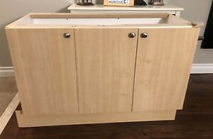 "49"" Bathroom vanity, counter, sink & faucet"