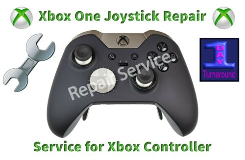 Xbox One Elite Controller (& regular) Original Joysticks MAIL-IN REPAIR SERVICE