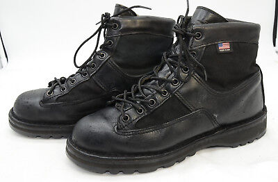 Danner Patrol Mens Sz 8 GTX Leather Biker Hiking Police Uniform Work Boots Danner Mens Uniform Boots
