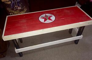 Texaco Table/Bench