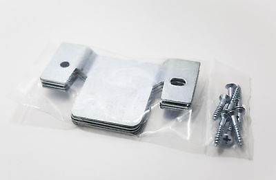 Sofa Sectional Furniture Interlocking Connectors w/Screws – Two New Sealed Sets Furniture