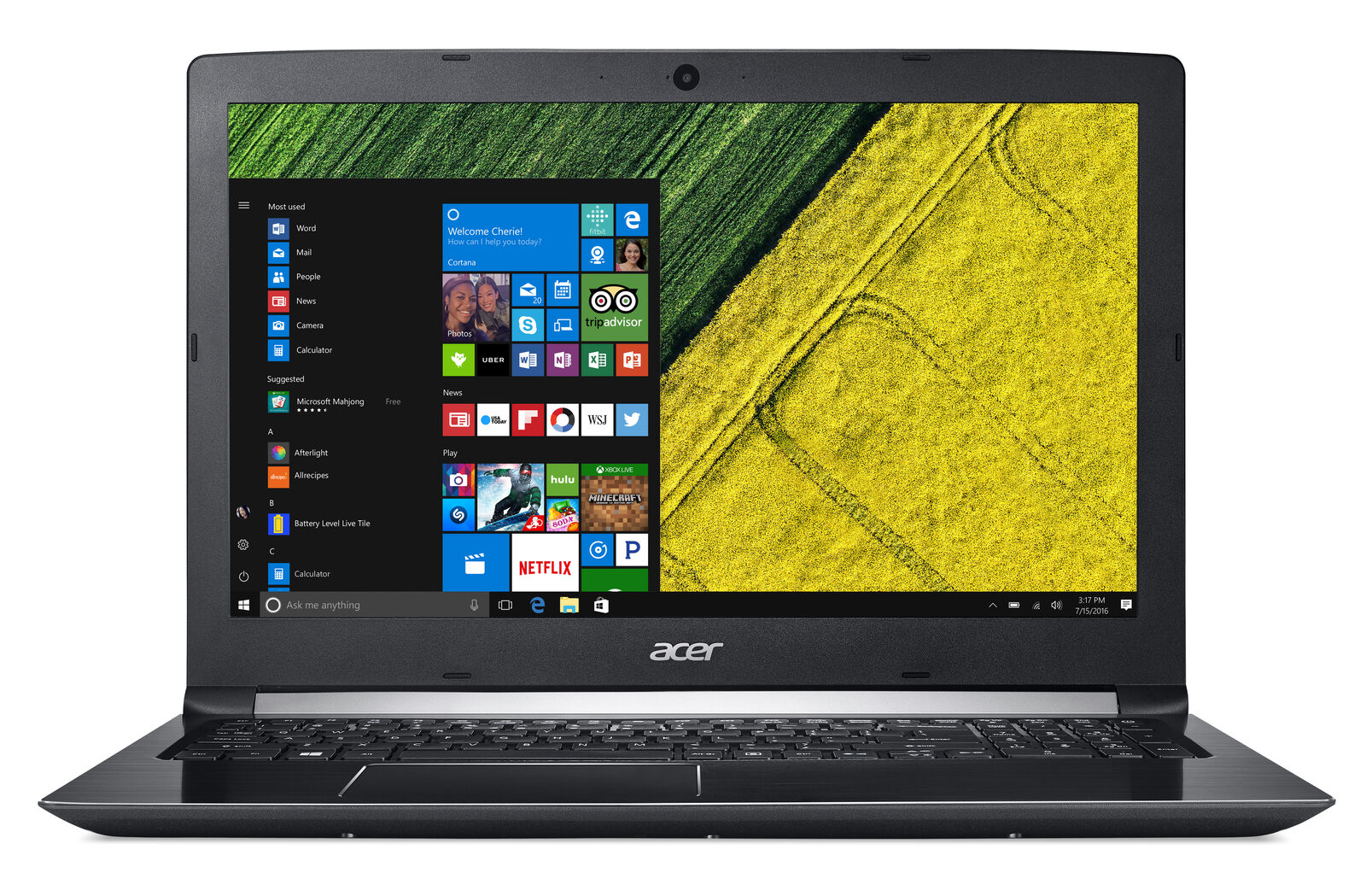 Acer Aspire 5 A515-51-58HD / Intel i5-8250U 4GB 16GB Optane