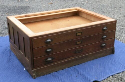 Hamilton 3 Drawer Flat File Section with Base