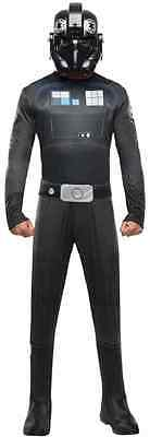 Halloween Fighter Pilot (Tie Fighter Pilot Star Wars Rebels Imperial Fancy Dress Halloween Adult)