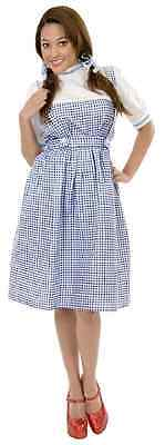 Teen Dorothy (Dorothy Long Dress Classic Wizard of Oz Fancy Dress Halloween Teen Adult Costume)
