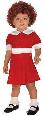 Annie Musical Little Orphan Girl Fancy Dress Up Halloween Toddler Child Costume - Toddlers Halloween Music