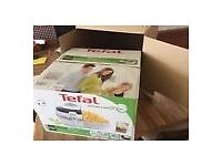 Tefal ActiFry Low Fat Fryer, white Family size Healthy - fry using only one spoonful of oil
