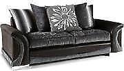 Brand New Martinez 3 Seater Sofa Scatter Back