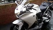 White Honda VFR 1200 FD with full Honda pannier set , new tyres and centre stand. 12 months MOT.2011