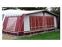 Caravan awning Dorema lux with Annex size 1050 to 1075