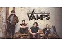 THE VAMPS x2 VIP TICKETS NOTTINGHAM wed MAY 17th 2017