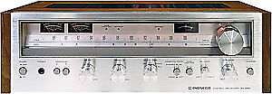 Pioneer SX 580 Silver Faced Receiver