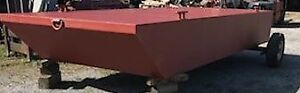 2018 20′ x 8′ x 30″ Barge (Other sizes available )