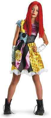 Sally Tween Nightmare Before Christmas Gothic Rag Doll Halloween Child Costume (Kids Nightmare Before Christmas Costumes)