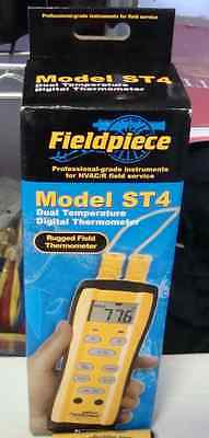 Fieldpiece St4 Dual-temperature Meter With 2-atb1 K Type Thermocouples New
