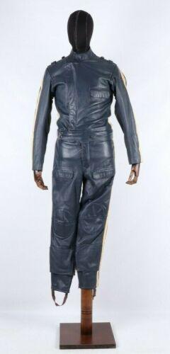 Yugoslavia Milicia Motorcycle Genue Leather Coverall