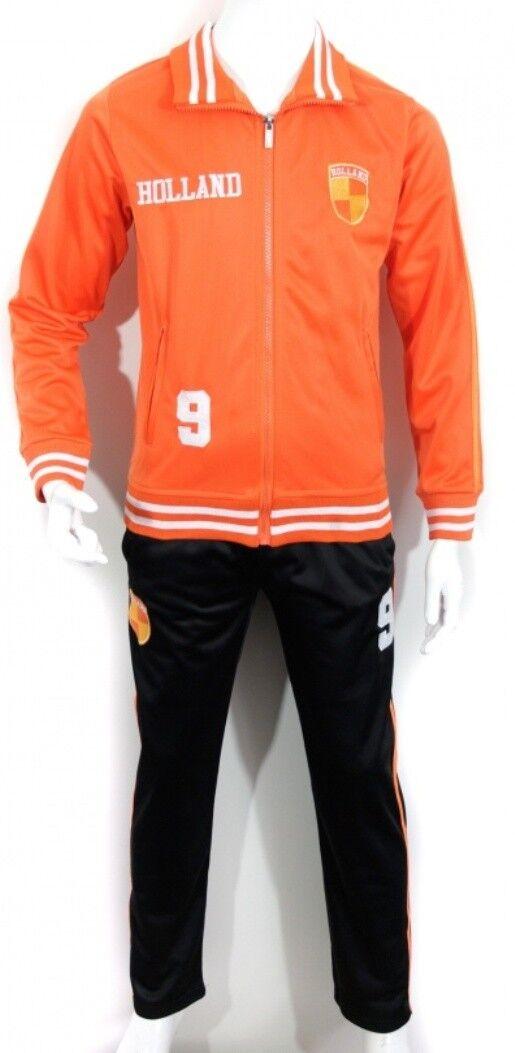 Kinder Jungen Jogginganzug Trainingsanzug Sport Hose Jacke set Holland Nederland