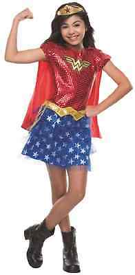 Wonder Woman Tutu DC Comics Superhero Fancy Dress Up Halloween Child Costume](Womens Superhero Tutu Costumes)