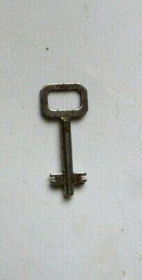 Antique Corbin  Double Bit Solid Shaft Key Roll-Top Desk Key Number B49 Desk Key